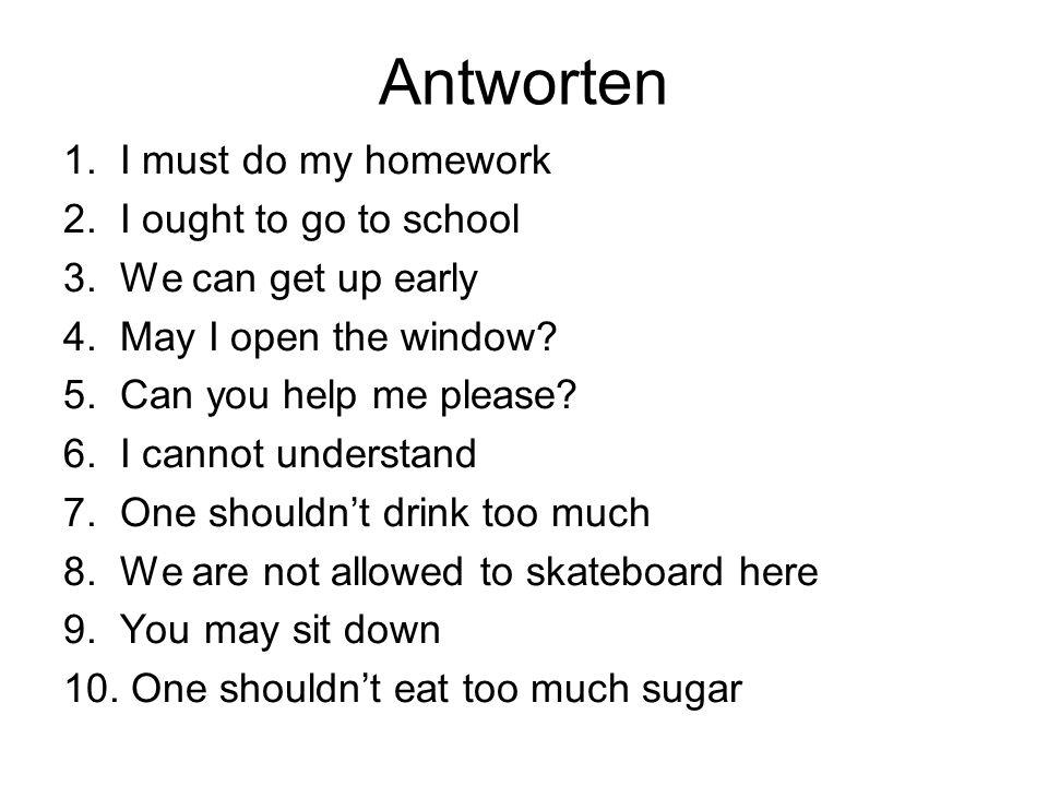 Antworten