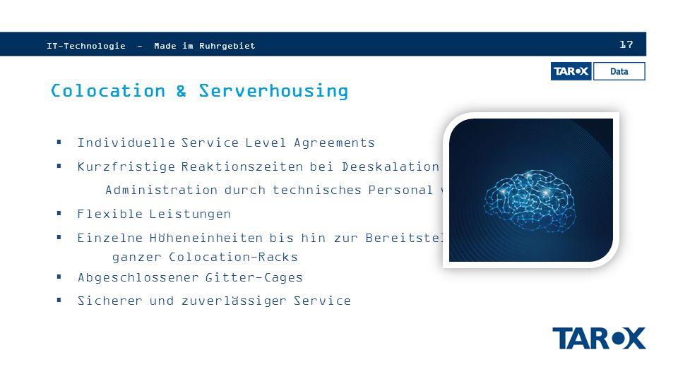 Colocation & Serverhousing