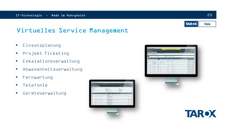Virtuelles Service Management