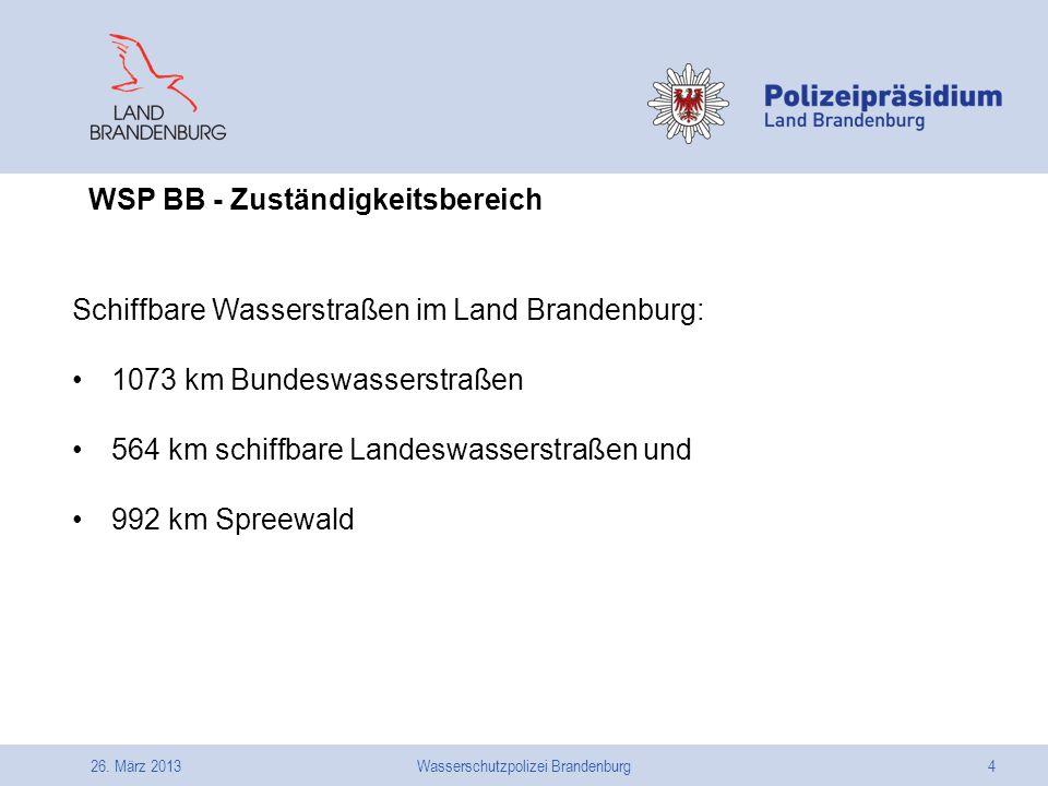 Wasserschutzpolizei Brandenburg
