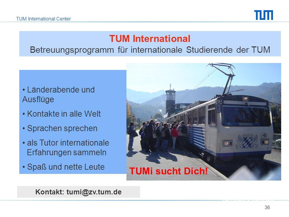 Kontakt: tumi@zv.tum.de