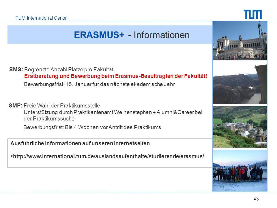 ERASMUS+ - Informationen