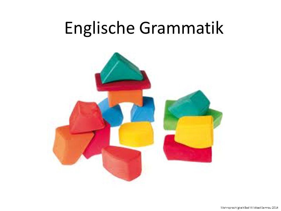 Englische Grammatik Mehrsprachigkeit Bad Wildbad Semrau 2014