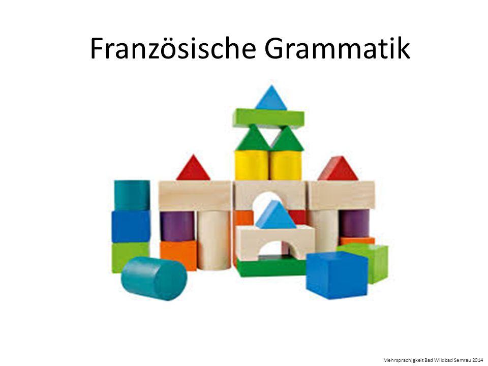 Französische Grammatik