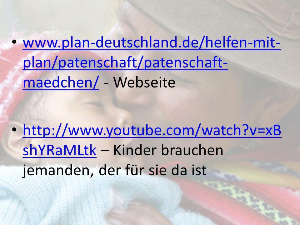 www.plan-deutschland.de/helfen-mit-plan/patenschaft/patenschaft-maedchen/ - Webseite