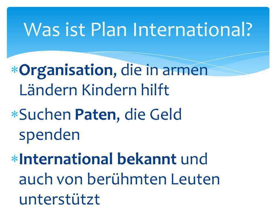 Was ist Plan International