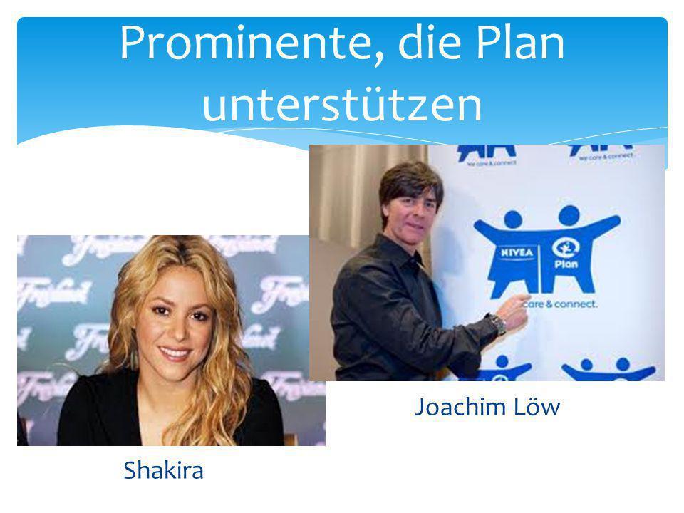Prominente, die Plan unterstützen