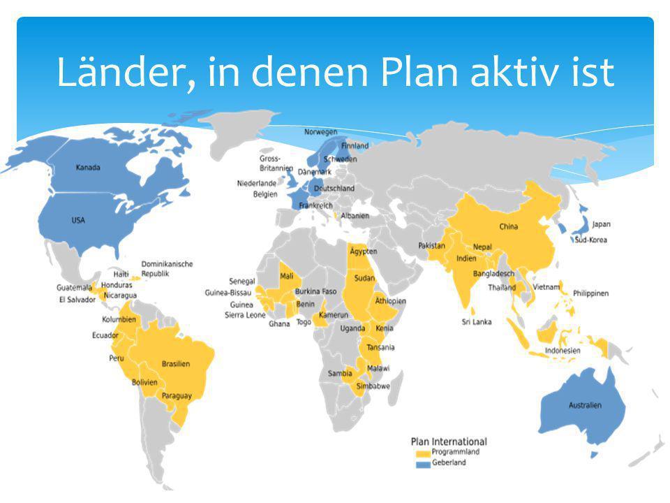 Länder, in denen Plan aktiv ist