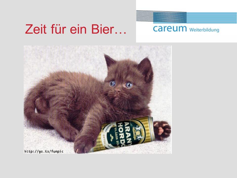Zeit für ein Bier…