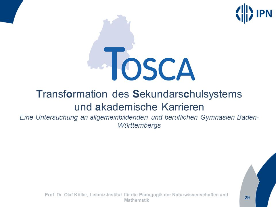 Transformation des Sekundarschulsystems und akademische Karrieren