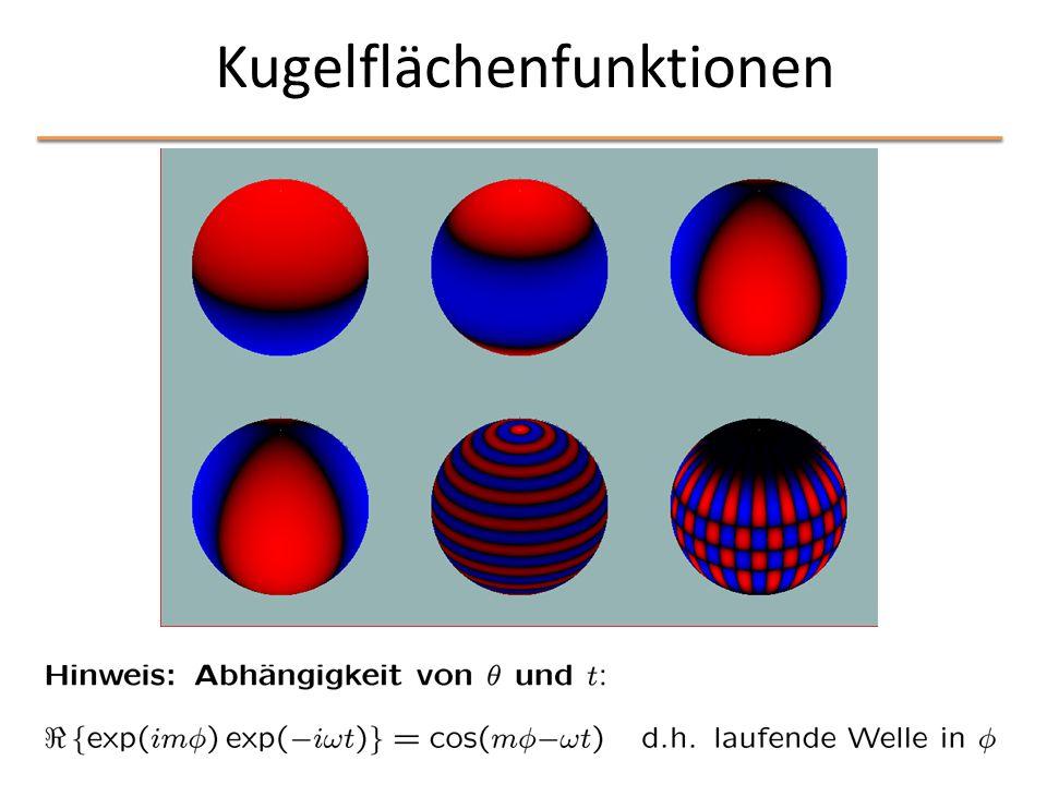 Kugelflächenfunktionen