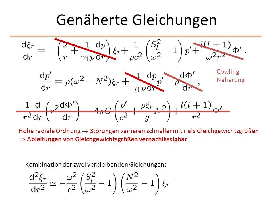 Genäherte Gleichungen