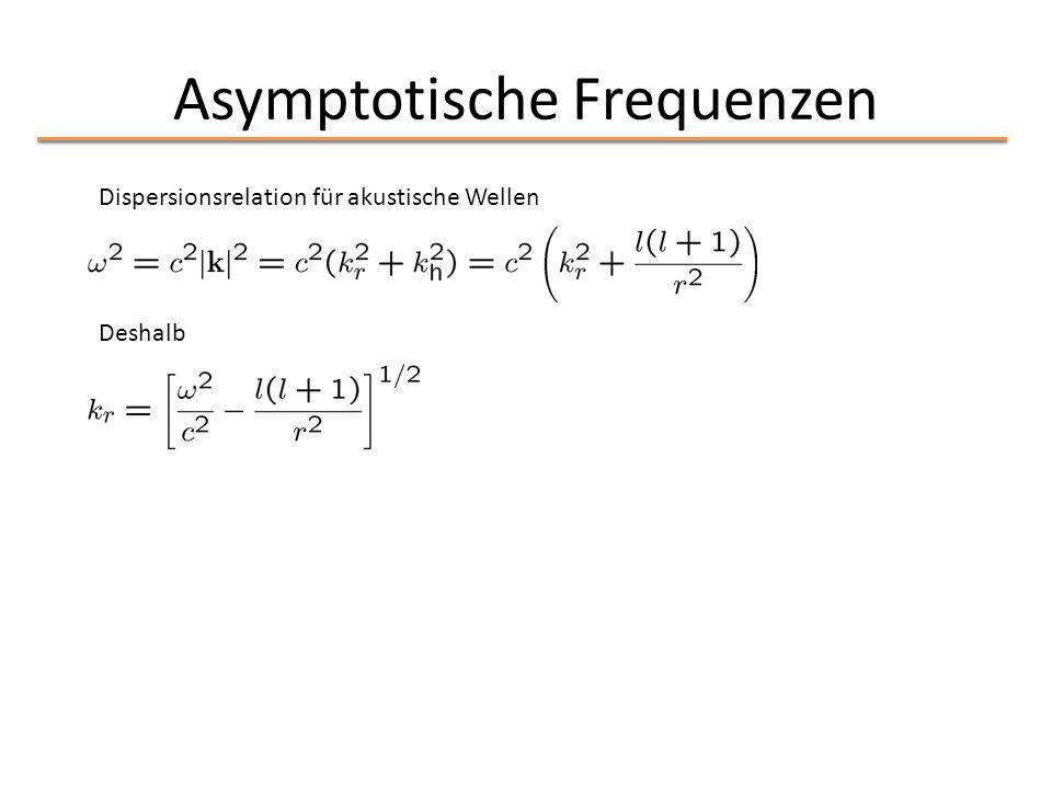 Asymptotische Frequenzen