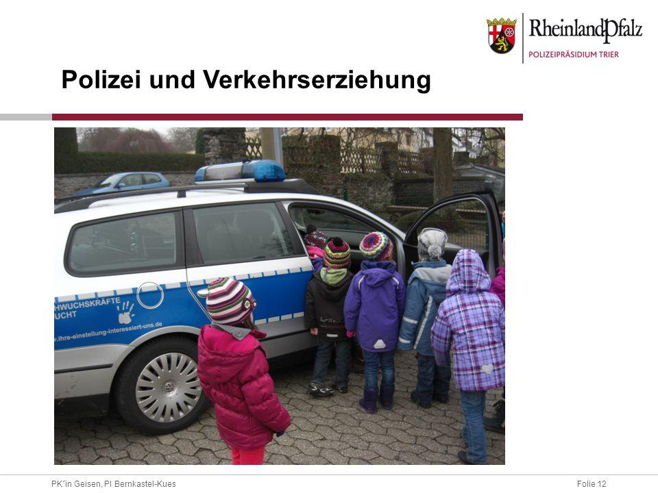 Polizei und Verkehrserziehung