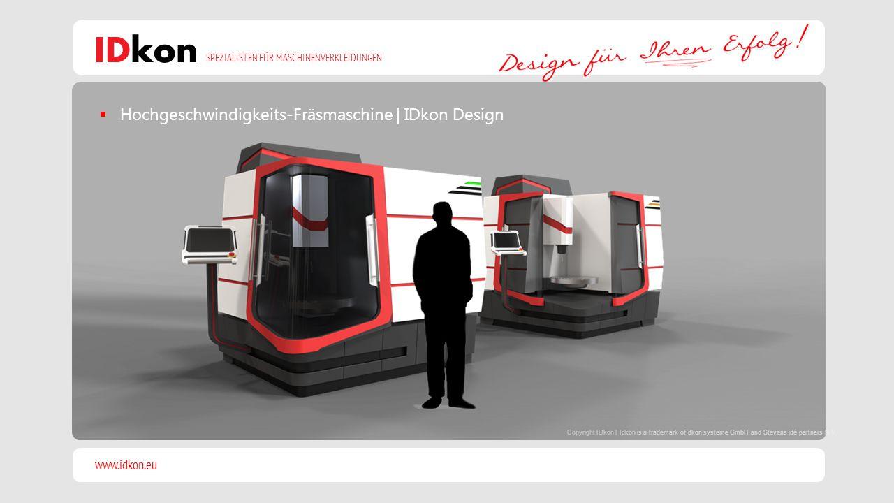 Hochgeschwindigkeits-Fräsmaschine | IDkon Design