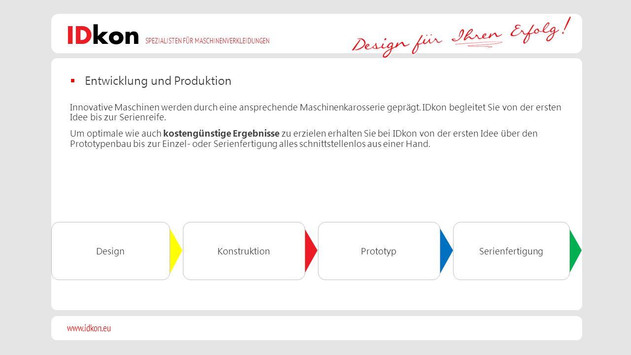 Entwicklung und Produktion