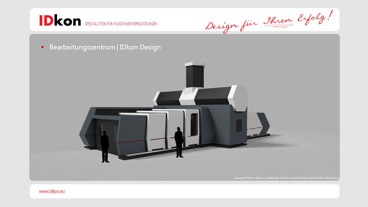 Bearbeitungszentrum | IDkon Design