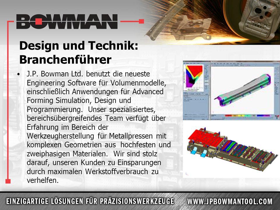 Design und Technik: Branchenführer