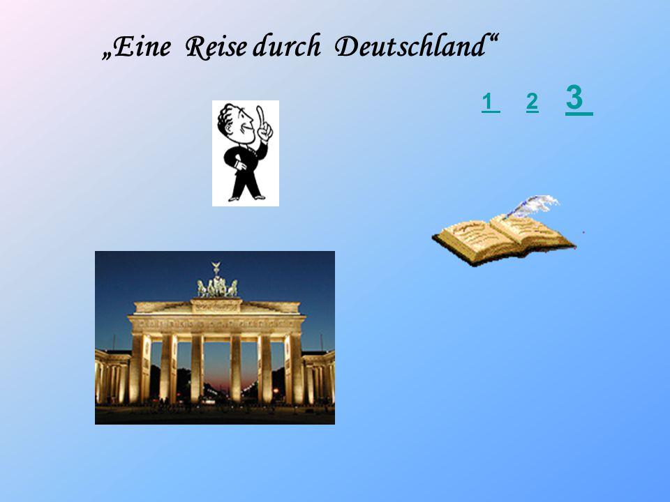 """""""Eine Reise durch Deutschland"""