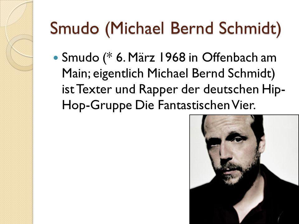 Smudo (Michael Bernd Schmidt)