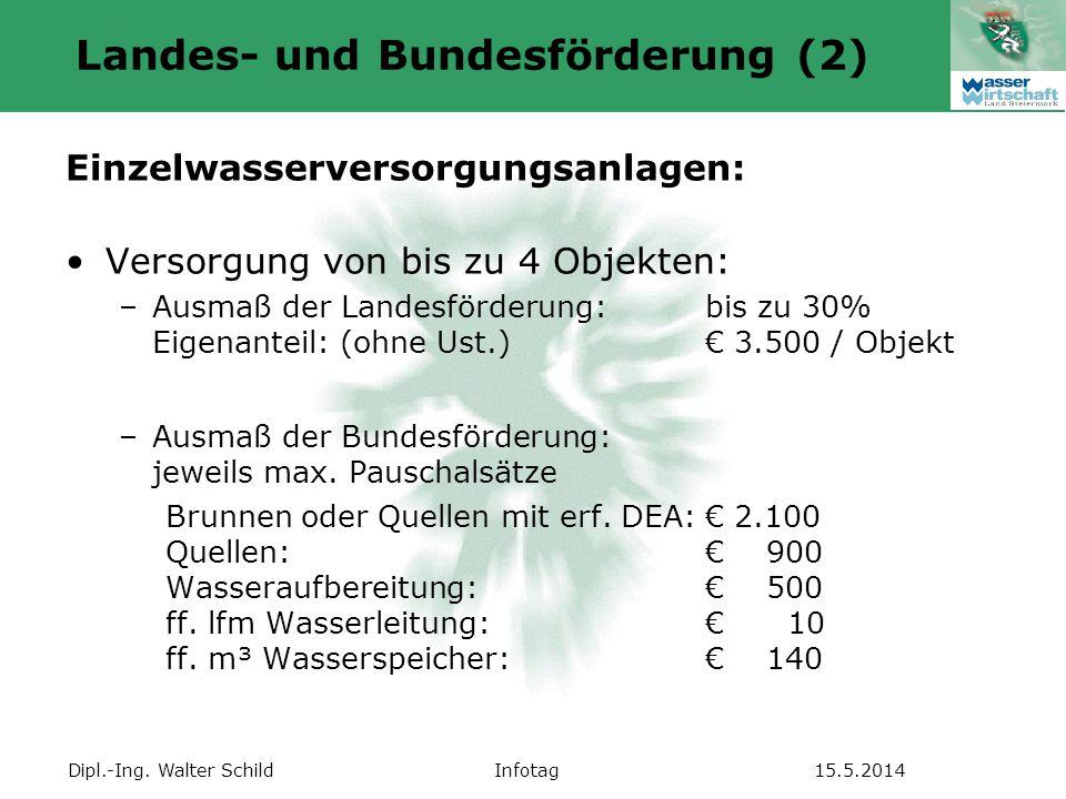 Landes- und Bundesförderung (2)