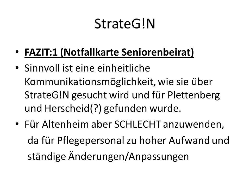 StrateG!N FAZIT:1 (Notfallkarte Seniorenbeirat)