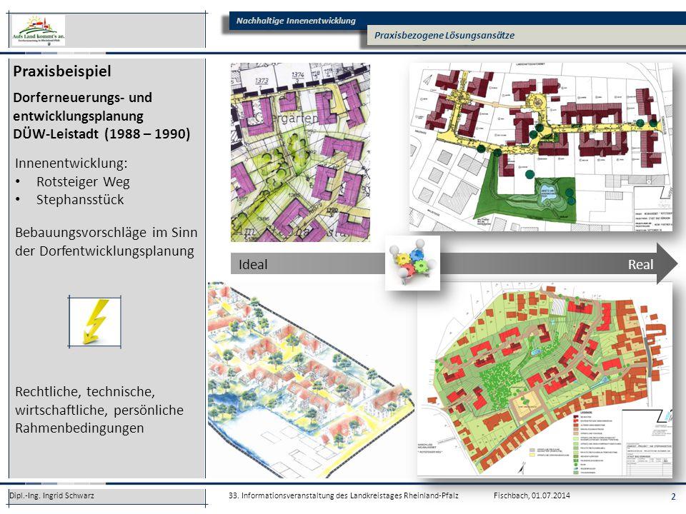 Praxisbeispiel Dorferneuerungs- und entwicklungsplanung