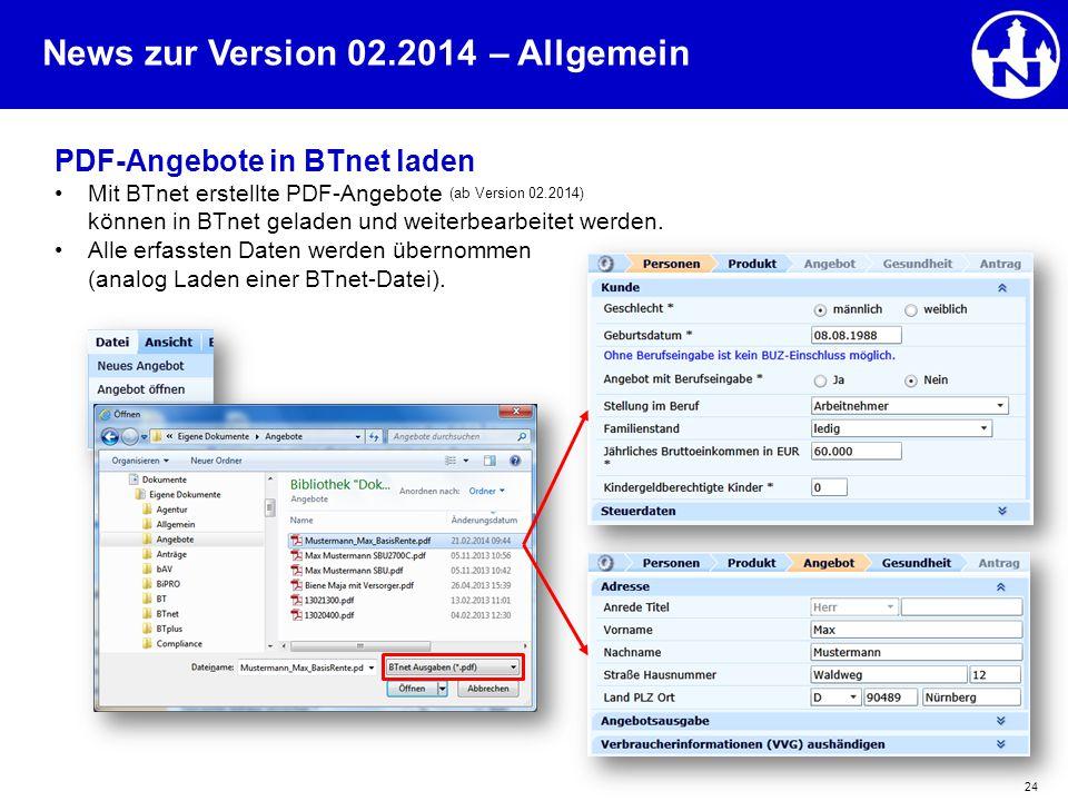 – Allgemein PDF-Angebote in BTnet laden