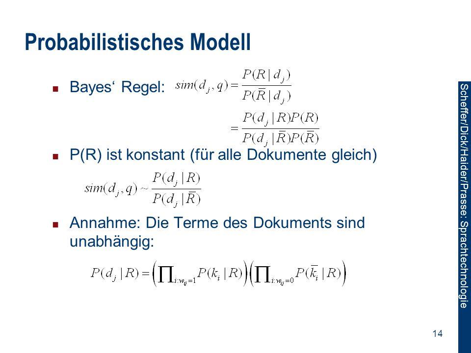 Probabilistisches Modell
