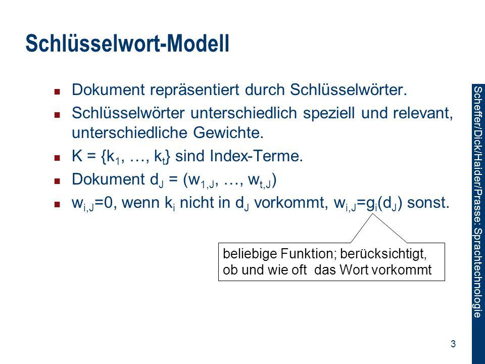 Schlüsselwort-Modell