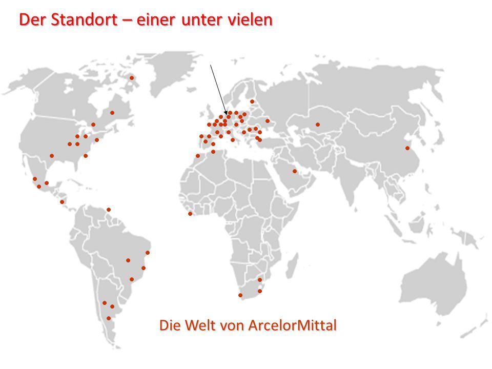 Die Welt von ArcelorMittal