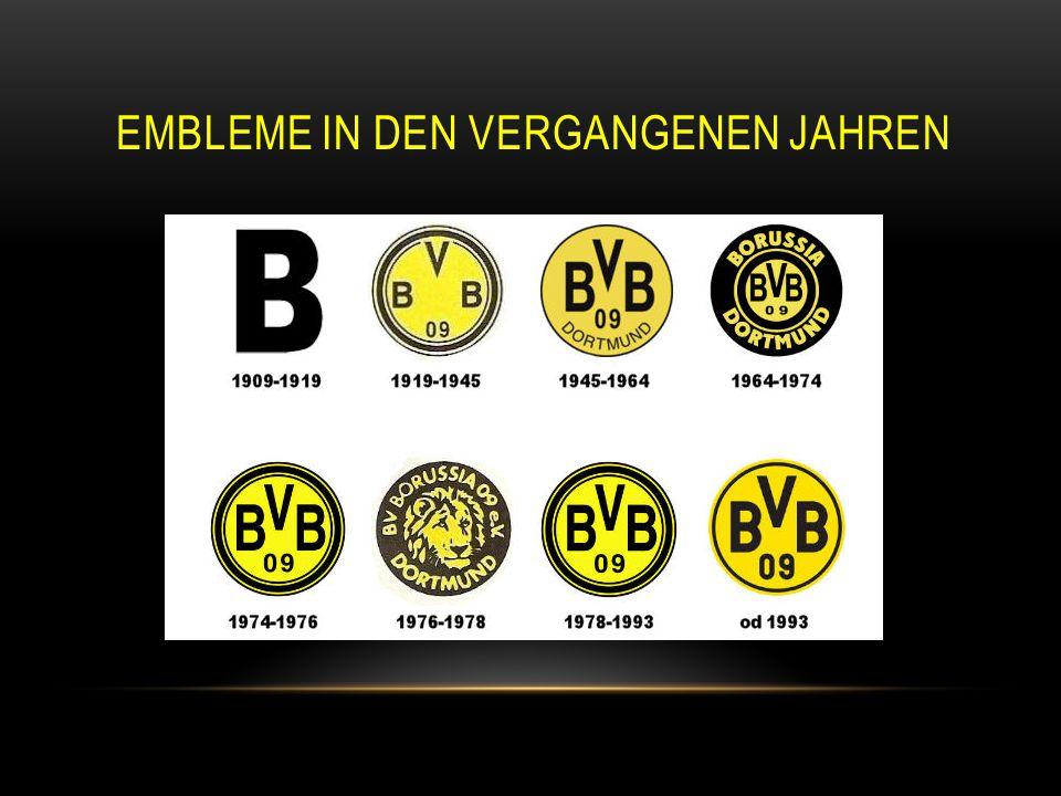 Embleme in den vergangenen Jahren