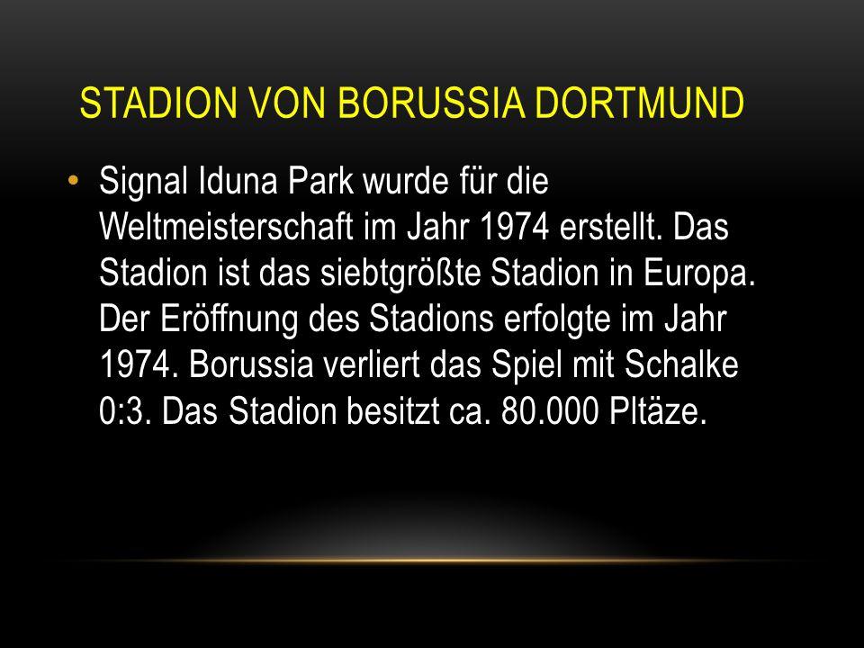 stadion von borussia dortmund