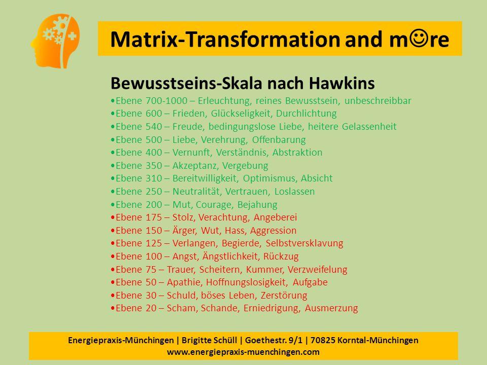Bewusstseins-Skala nach Hawkins