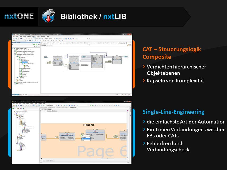 Bibliothek / nxtLIB CAT – Steuerungslogik Composite