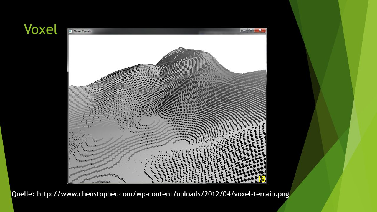 Voxel Quelle: http://www.chenstopher.com/wp-content/uploads/2012/04/voxel-terrain.png