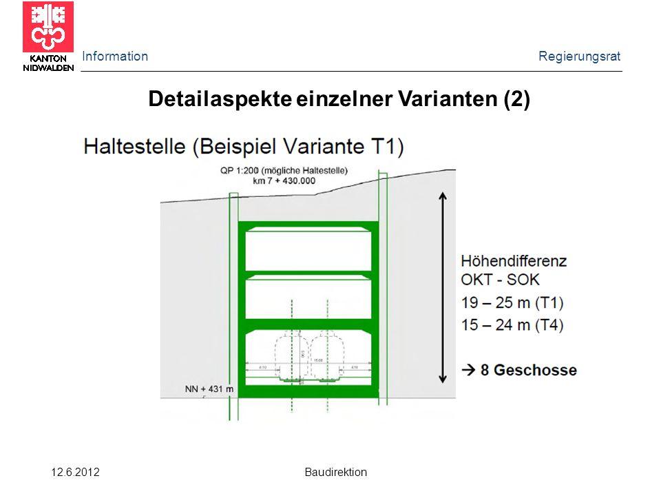 Detailaspekte einzelner Varianten (2)