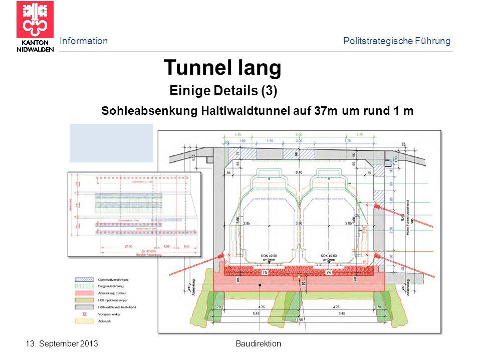 Tunnel lang Einige Details (3)