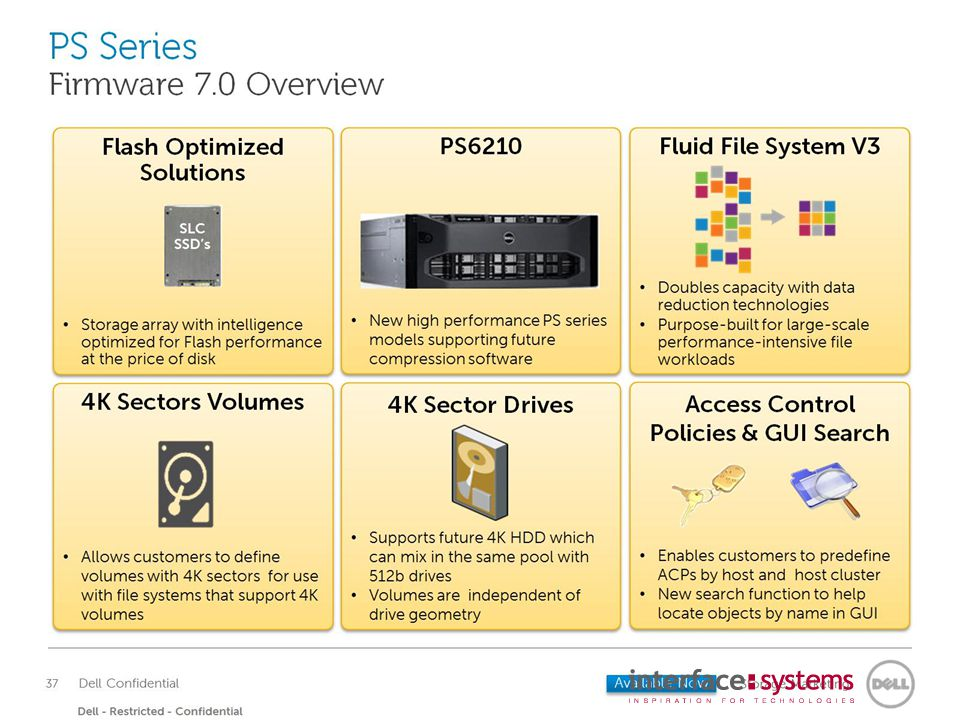 PS Series Host software portfolio