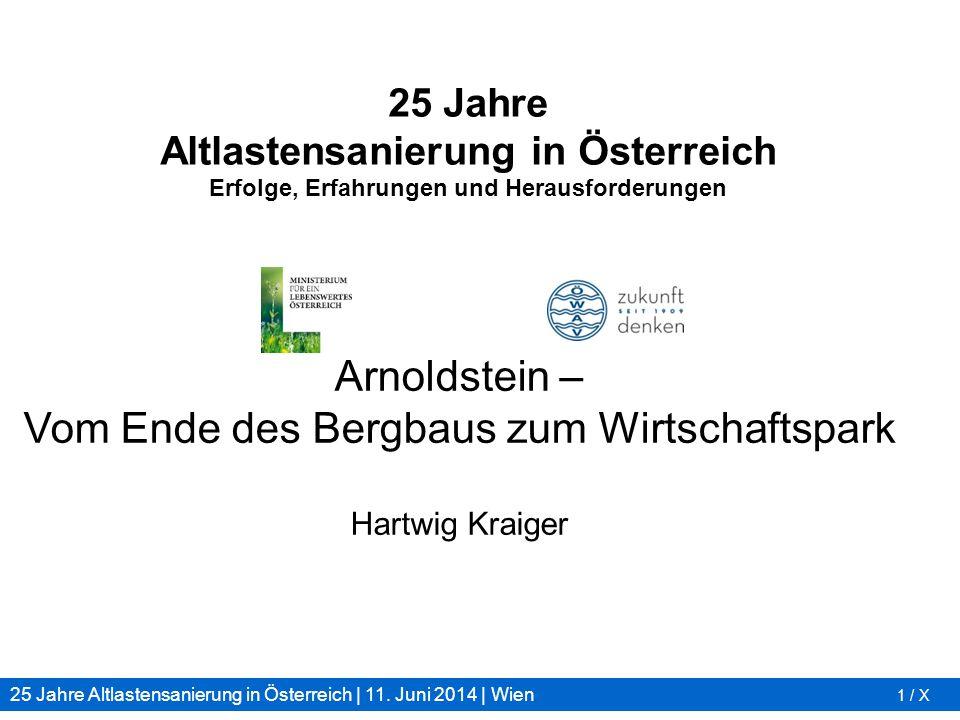 Arnoldstein – Vom Ende des Bergbaus zum Wirtschaftspark Hartwig Kraiger