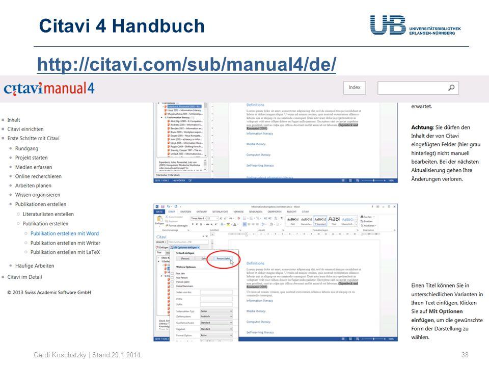 Citavi 4 Handbuch http://citavi.com/sub/manual4/de/