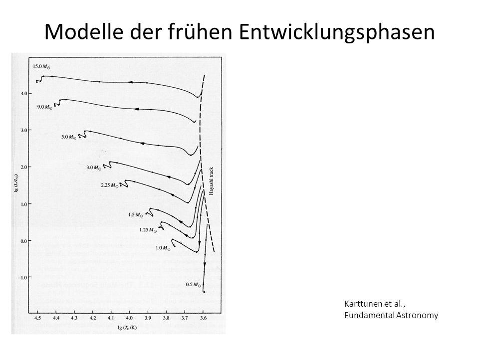 Modelle der frühen Entwicklungsphasen
