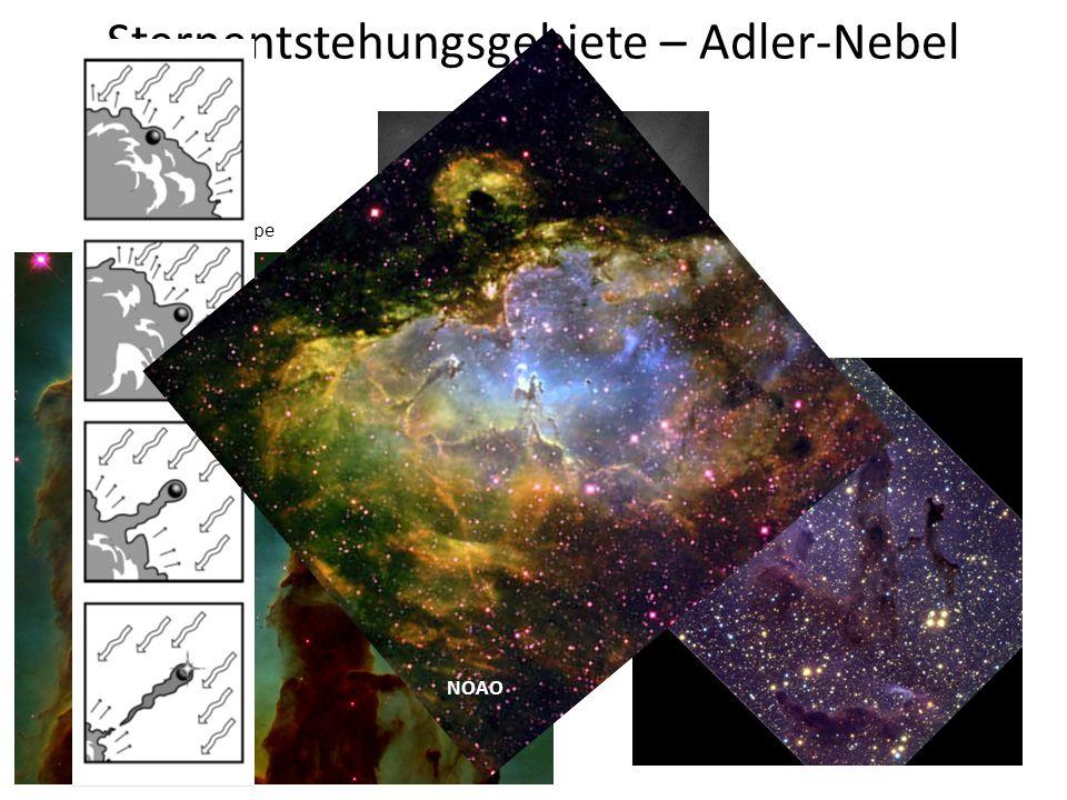 Sternentstehungsgebiete – Adler-Nebel