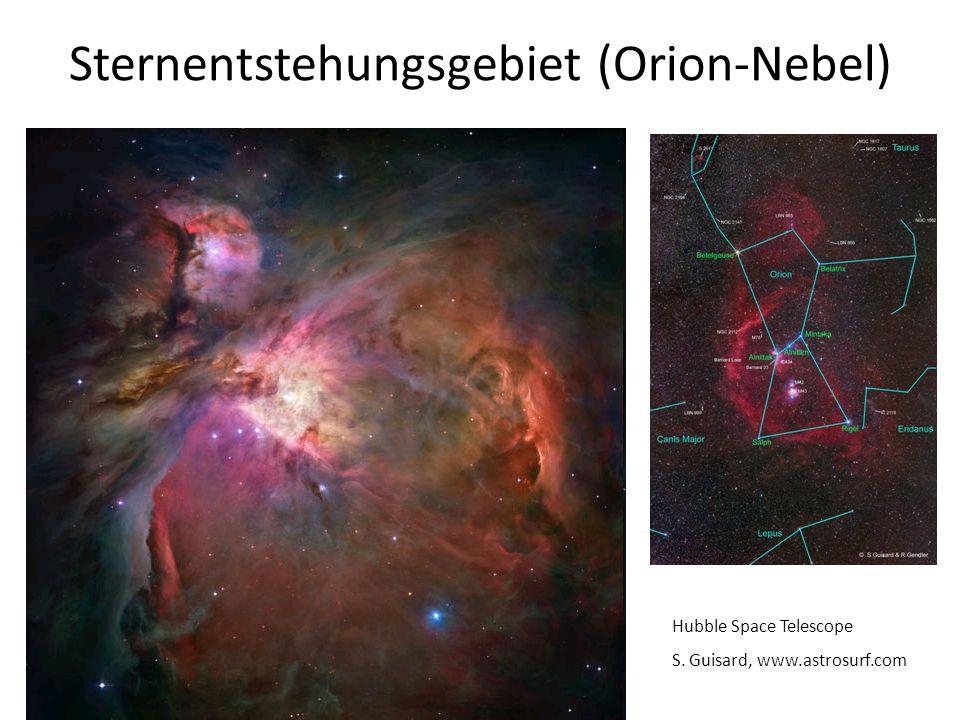 Sternentstehungsgebiet (Orion-Nebel)