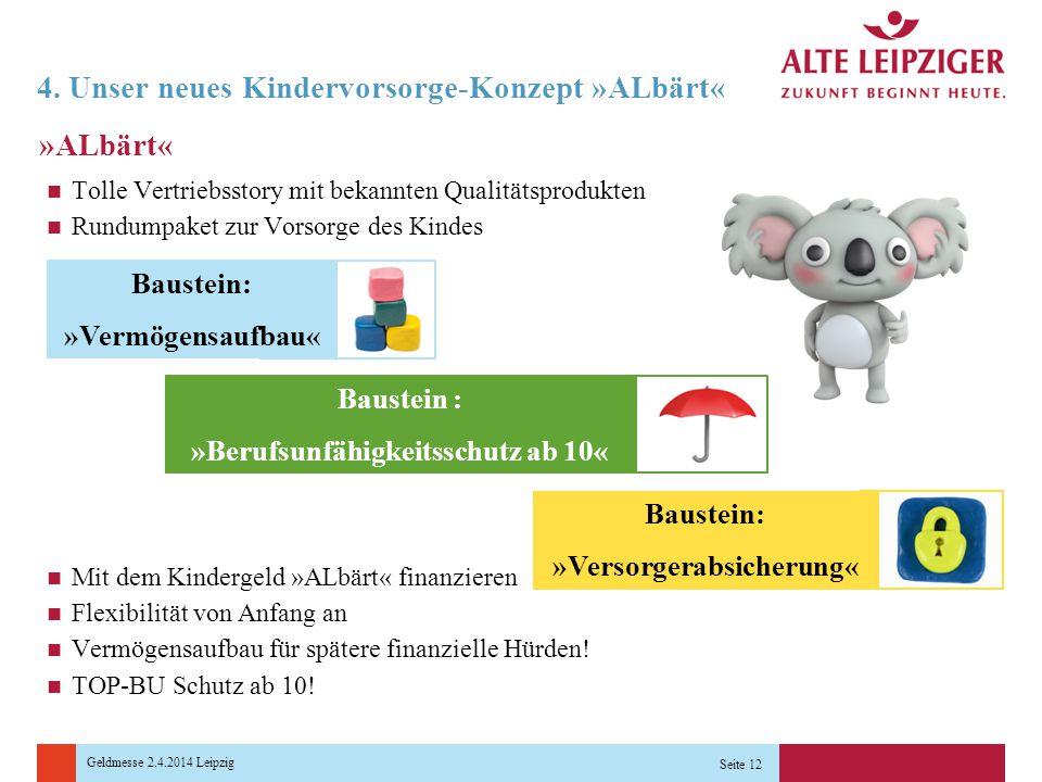 4. Unser neues Kindervorsorge-Konzept »ALbärt«
