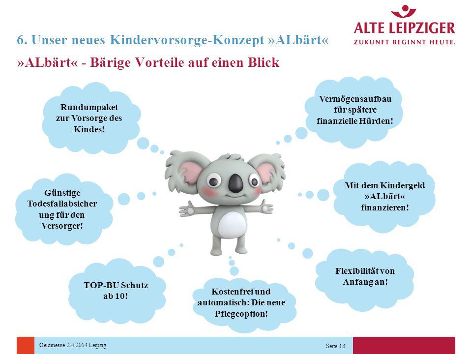 6. Unser neues Kindervorsorge-Konzept »ALbärt«