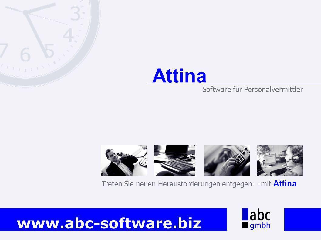 Attina Software für Personalvermittler