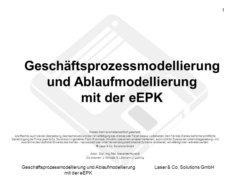 Geschäftsprozessmodellierung und Ablaufmodellierung