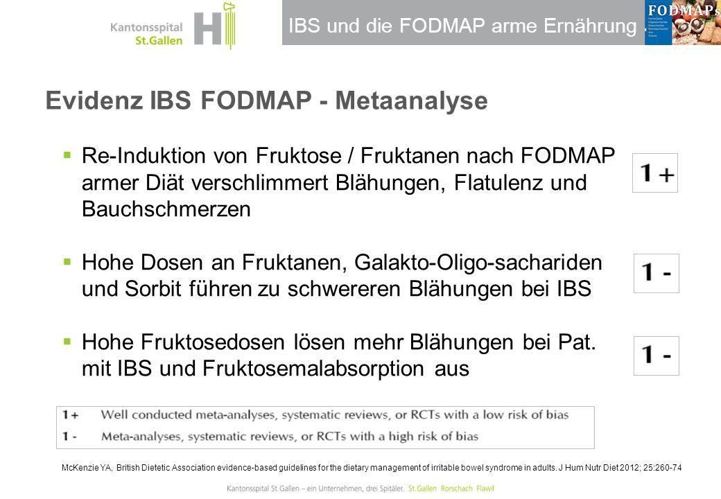 Evidenz IBS FODMAP - Metaanalyse