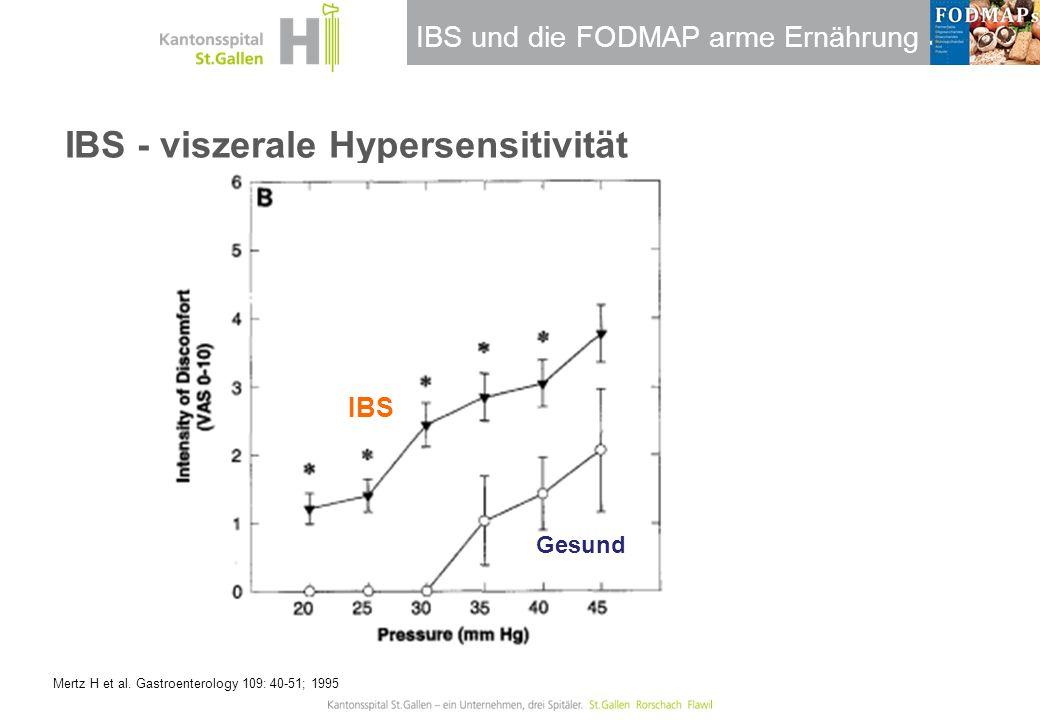 IBS - viszerale Hypersensitivität